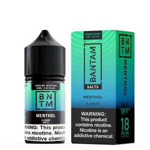 Bantam Salts | Menthol (30ml)