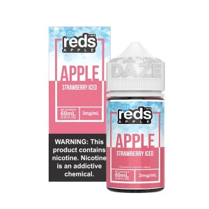Reds Apple   Strawberry Iced (60ml)