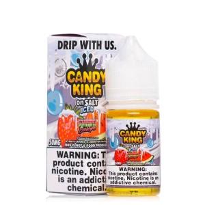 Candy King Salt | Strawberry Watermelon Bubblegum ICED (30ml)