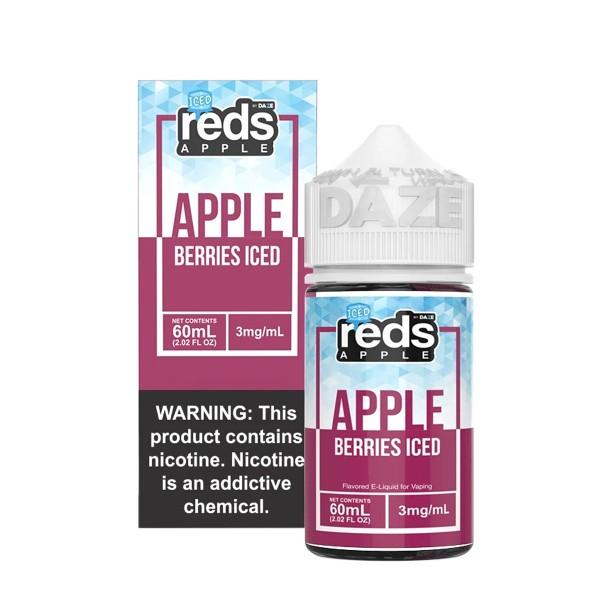 Vape 7 Daze Reds Berries Ice (60ml)