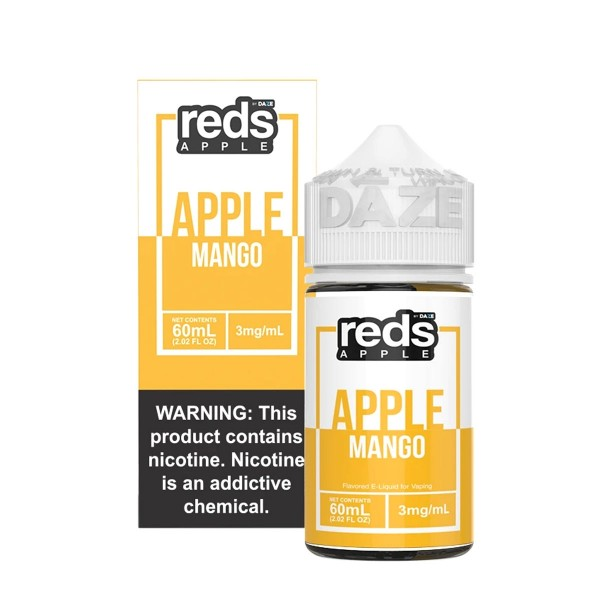 Vape 7 Daze- Reds Mango (60ml)