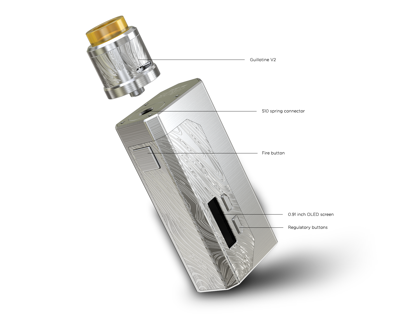 Wismec LUXOTIC MF BOX with Guillotine V2 kit